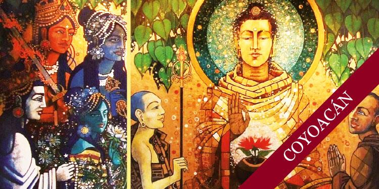Noches de Mitras en Coyoacán: Budas y Bodhisattvas, el primer miércoles de cada mes a las 19:00 hrs.