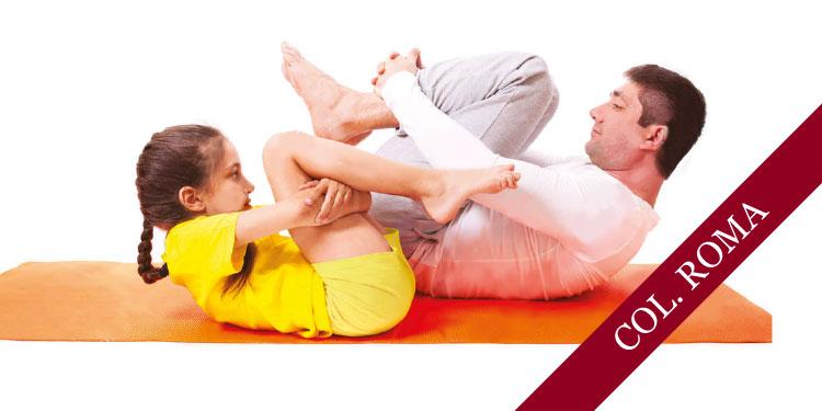 Taller de Yoga para niños y sus padres, sábado 8 y domingo 9 de diciembre 2018, a las 12:00 hrs.