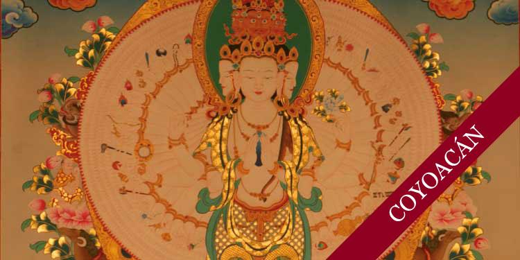 Taller especial de Meditación con Mantras de Cierre de Año Dedicado a Avalokiteshvara. Miércoles 13 de Diciembre 2017, a las 19:00 hrs.
