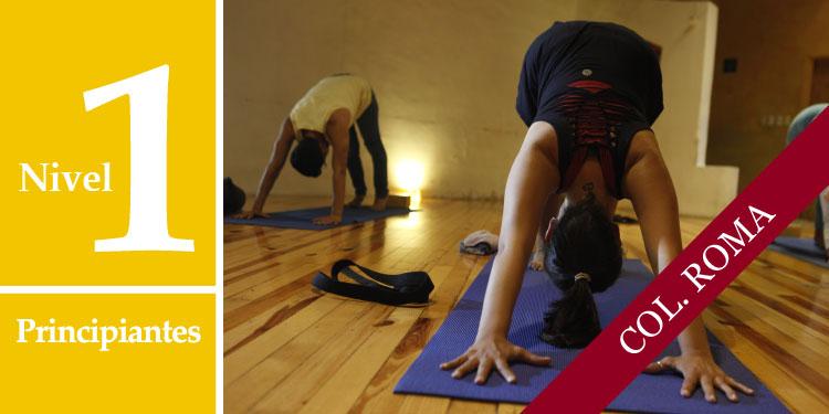 Cursos Intensivos de Profundización de Yoga Nivel I: Principiantes, Domingo 17 de Septiembre 2017, a las 11:30 hrs.
