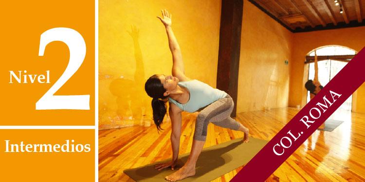 Cursos Intensivos de Profundización de Yoga Nivel II: Intermedios, Sábado 9 de Septiembre 2017, a las 11:30 hrs.
