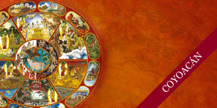 Curso Fundacional de Budismo y Meditación: La Rueda de la Vida, Jueves 9 de Noviembre 2017, a las 19:30 hrs.