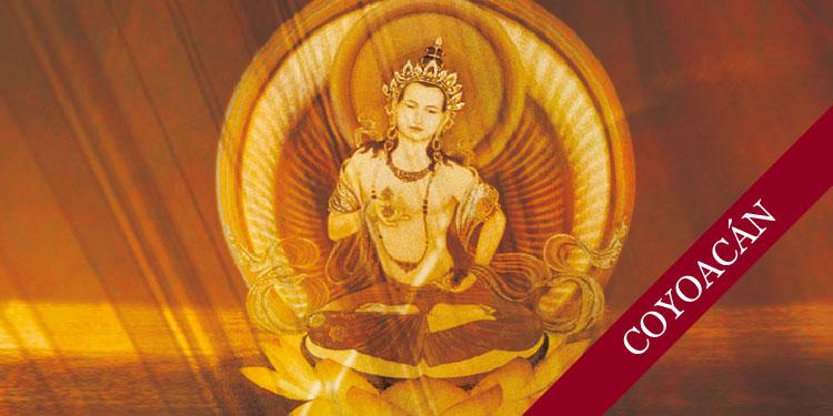 Noche de Mitras dedicado a Vajrasatva y Puya de la luz Dorada en Coyoacán