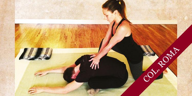 Taller de Yoga Terapéutico para la Columna Vertebral, Martes 14 de Agosto 2018, a las 17:30 hrs.