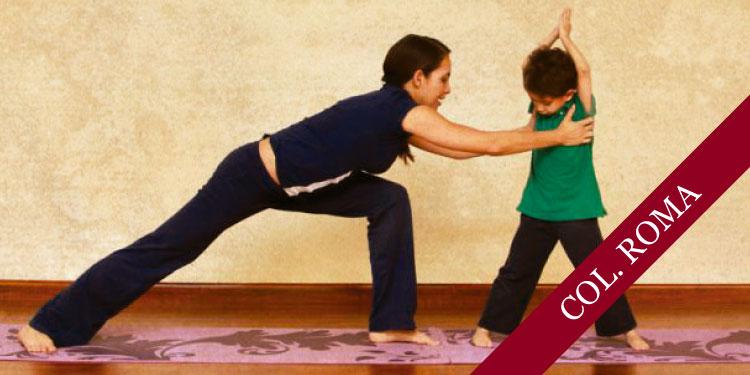 Taller de Yoga para niños y sus padres, Martes 3 de Abril 2018, a las 17:30 hrs.