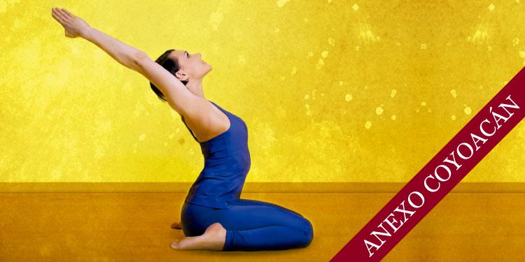 Taller de Yoga para la Mujer, Domingo 8 de Abril 2018, a las 11:00 hrs.