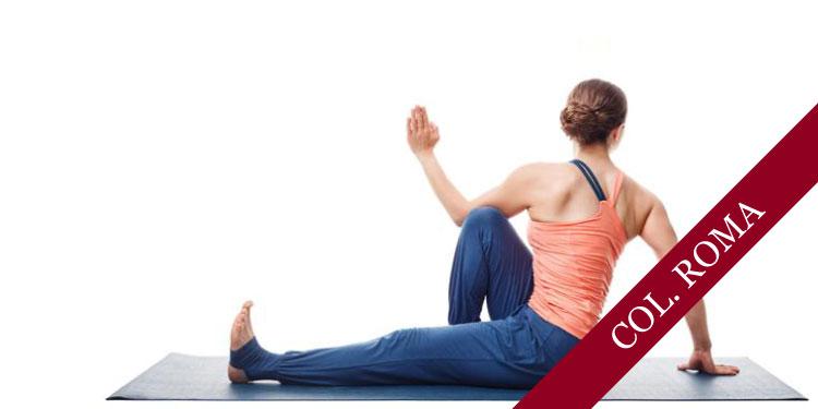 Clase Especial, Las Asanas en la práctica de yoga y los props: Torsiones  Sábado 7 de Abril 2018, a las 09:30 hrs.