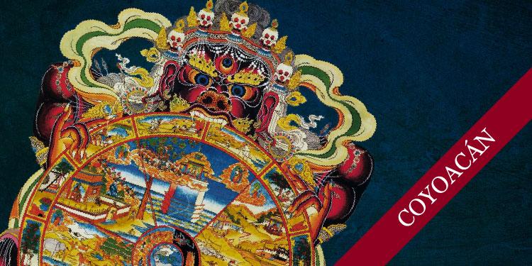 Curso de Budismo y Meditación: La Rueda de la Vida, Domingo 5 de Agosto 2018, a las 11:30 hrs.