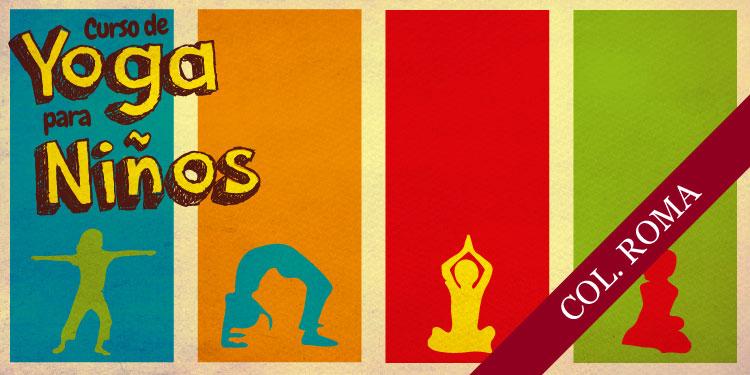 Curso de Yoga para Niños, Martes 31 de Julio 2018, a las 17:30 hrs.