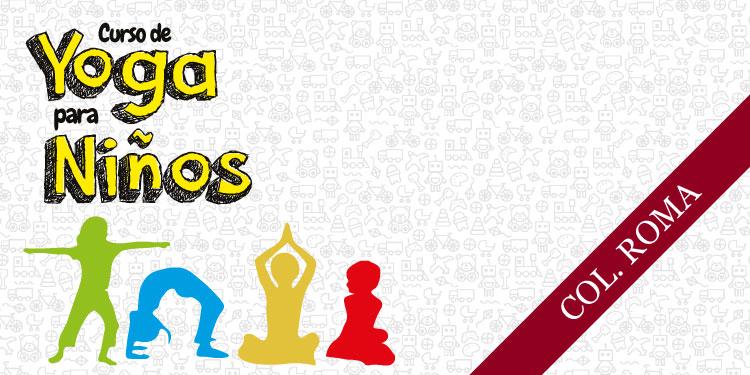 Taller de Yoga para Niños, Martes 13 de Noviembre 2018, a las 17:30 hrs.