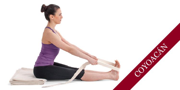 Taller Especial de Yoga, uso de apoyos: Cinturón, Viernes 12 de Octubre 2018, a las 19:30 hrs.